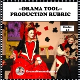 DRAMA TOOLS:  PRODUCTION RUBRIC