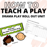 DRAMA UNIT - Play role out (FRENCH/ENGLISH APPROPRIATE)