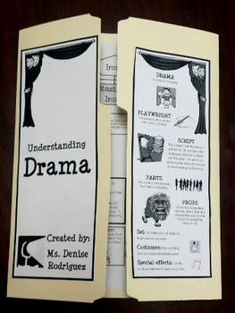 DRAMA STAAR foldable