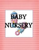 DRAMATIC PLAY THEME SIGNS - Baby Nursery
