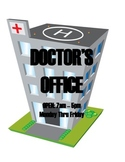 DRAMATIC PLAY THEME SIGNS - Doctors Office