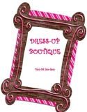 DRAMATIC PLAY THEME SIGNS - Dress Up Boutique