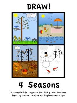 DRAW! 4 SEASONS  by Karen Smullen