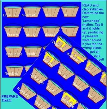 DRAW A BUCKET OF WATER - Tika ti - Prep & Present - Smartboard