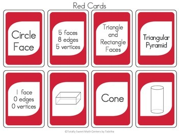 DRAW (An Uno Inspired Card Game) 3D Shapes