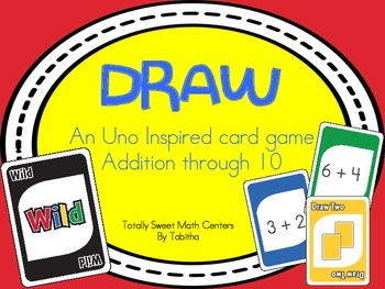 DRAW (An Uno Inspired Card Game) Adding 1-10
