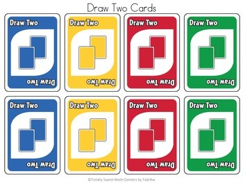 DRAW (An Uno Inspired Card Game) Adding 11-20