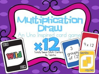 DRAW (An Uno Inspired Card Game) Multiplying by 12