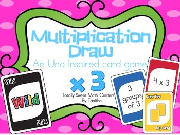 DRAW (An Uno Inspired Card Game) Multiplying by 3