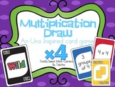 DRAW (An Uno Inspired Card Game) Multiplying by 4