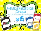 DRAW (An Uno Inspired Card Game) Multiplying by 6