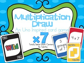 DRAW (An Uno Inspired Card Game) Multiplying by 7