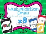 DRAW (An Uno Inspired Card Game) Multiplying by 8