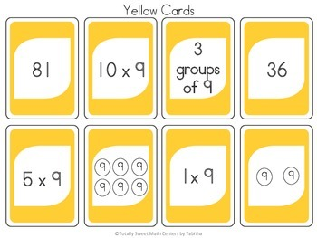 DRAW (An Uno Inspired Card Game) Multiplying by 9