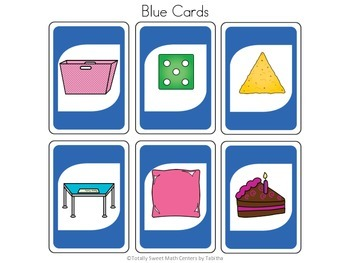 DRAW (An Uno Inspired Card Game) Real World Flat Shapes