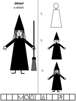 DRAW! Halloween by Karen Smullen
