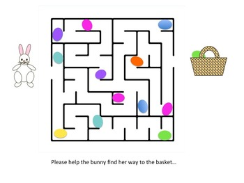 DRAW! and Easter maze