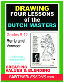 DRAWING 4 DUTCH MASTERS MASTERPIECES