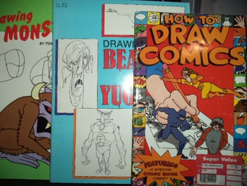 DRAWING BOOKS     (SET OF 3)