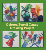 Distance Learning - Art - DRAWING - Candy - Middle or High
