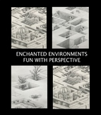 "Distance Learning - Art - ""Enchanted Environments"""