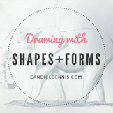 DRAWING WITH SHAPES AND FORMS
