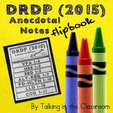 DRDP 2015 PRESCHOOL ANECDOTAL FLIPBOOK