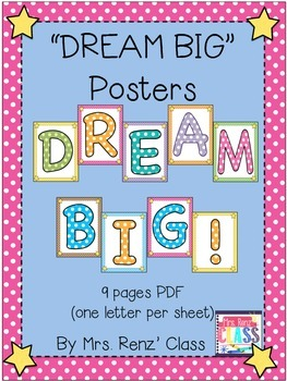 Martin Luther King Day Dream Big Poster