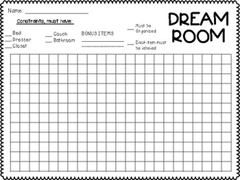 DREAM ROOM - Using Area (multiplication) in Real Life