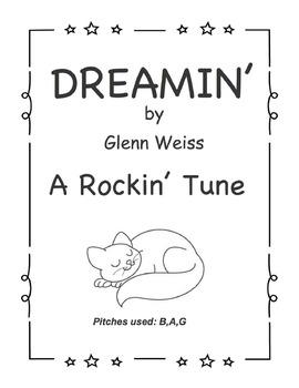 Recorder/iPad DREAMIN' (Rockin' Accompaniment Included)