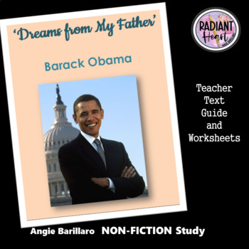 DREAMS FROM MY FATHER- BARACK OBAMA WORKSHEETS