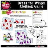 DRESS FOR WINTER - A Color Clothes Game