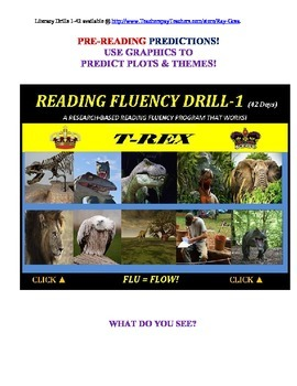 Use Graphics to Predict Plots and Themes! FLUENCY CAN BE INCREASED! Drill -1