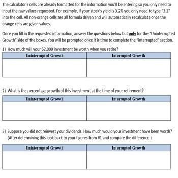 How Dividend Reinvestment Plans Work - DRIP Calculator