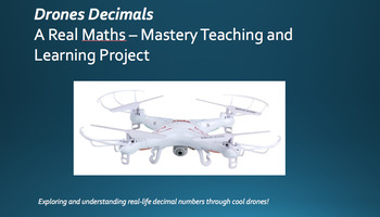 DRONES DECIMALS 5 DAY PLAN, TEACH, DISPLAY AND ASSESS PACK!