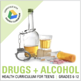 DRUG & ALCOHOL Projects + Activities for Distance Learning