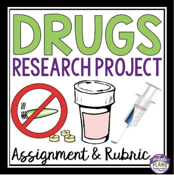 DRUGS PROJECT: HEALTH ASSIGNMENT