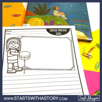 DRUM DREAM GIRL read aloud lessons