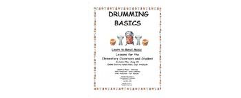 DRUMMING BASICS Lesson 1 (Whole, Half, Quarter Notes)