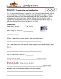 DRY ICE: Evaporation and sublimation  Halloween Fun