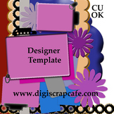 DSC's Scalloped Journal Template