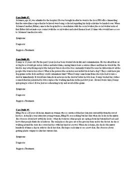 DSM 5 Case Studies