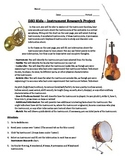 DSO Kids: Instrument Research Project