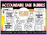 DST Accountable Talk Speech Bubbles!