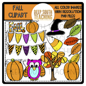 DST Fall Clipart!