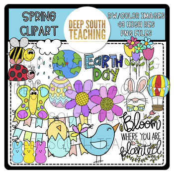 DST Spring Clipart!