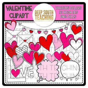 DST Valentine Clipart!