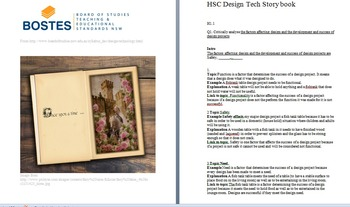 DT HSC story book