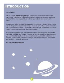 "DTI: Journey to Utopia ""Space Exploration"" Student Handbook- Full Version"