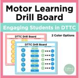 DTTC/Motor-Speech Drill Board